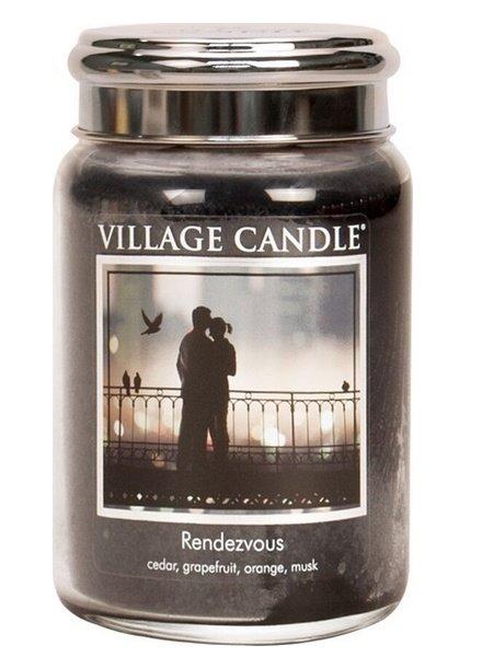 Village Candle Rendezvous Large Jar