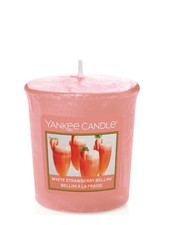 Yankee Candle White Strawberry Bellini Votive