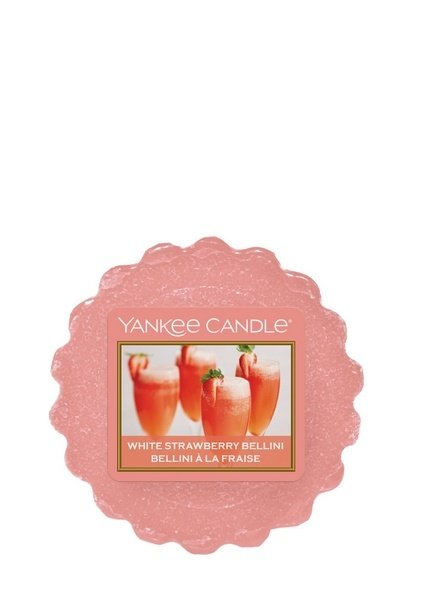 Yankee Candle White Strawberry Bellini Tart