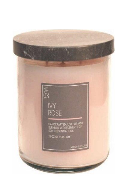 Village Candle Ivy Rose Medium Bowl