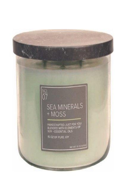 Village Candle Sea Minerals Moss Medium Bowl