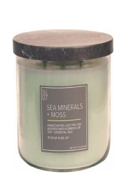 Village Candle Village Candle Sea Minerals Moss Medium Bowl