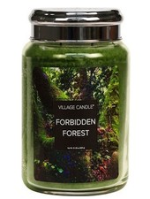 Village Candle Forbidden Forest Large Jar