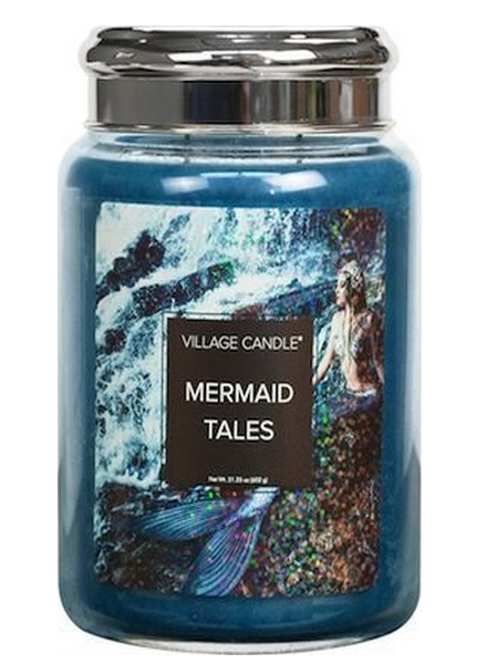 Village Candle Village Candle Mermaid Tales Large Jar