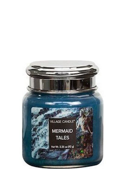 Village Candle Mermaid Tales Mini Jar