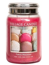 Village Candle French Macaron Large Jar