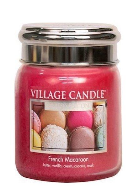 Village Candle French Macaron Medium Jar