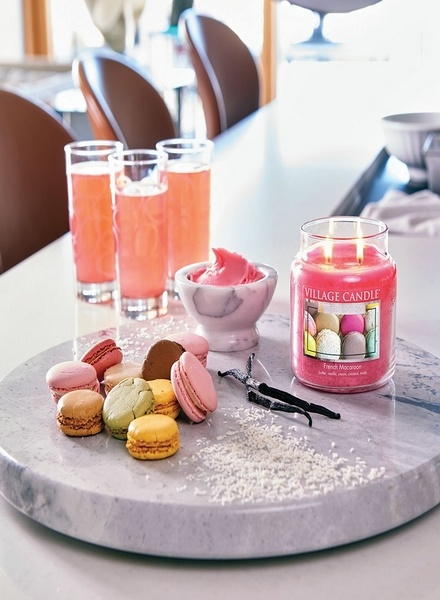 Village Candle Village Candle French Macaron Small Jar