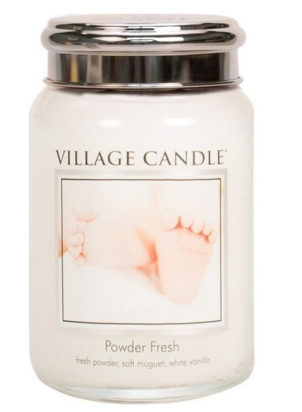 Village Candle Powder Fresh Large Jar