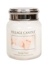 Village Candle Powder Fresh Medium Jar