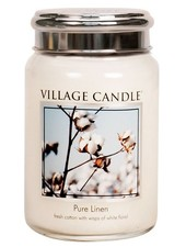 Village Candle Pure Linen Large Jar