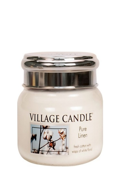 Village Candle Village Candle Pure Linen Small Jar