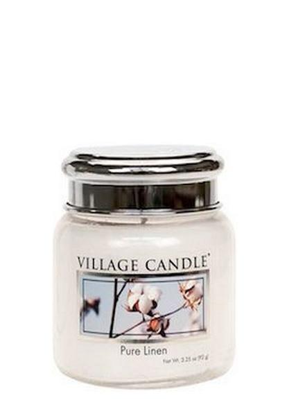 Village Candle Village Candle Pure Linen Mini Jar
