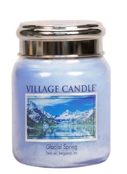 Village Candle Glacial Spring Medium Jar