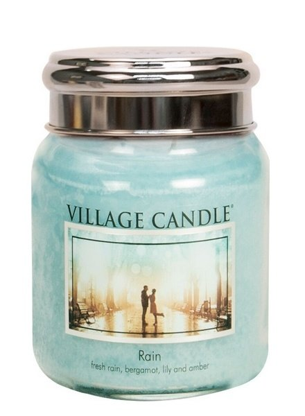 Village Candle Rain Medium Jar