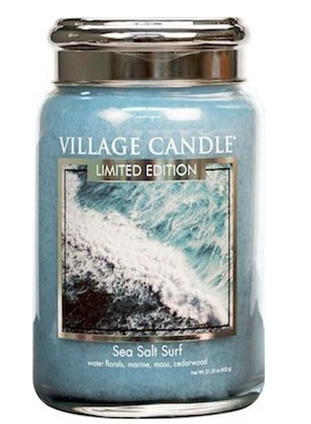 Village Candle Sea Salt Surf Large Jar
