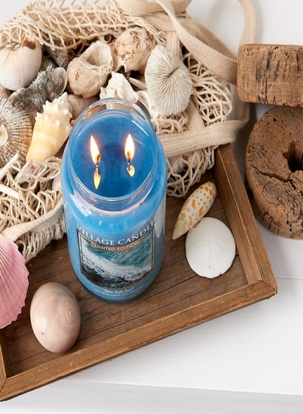 Village Candle Village Candle Sea Salt Surf Large Jar