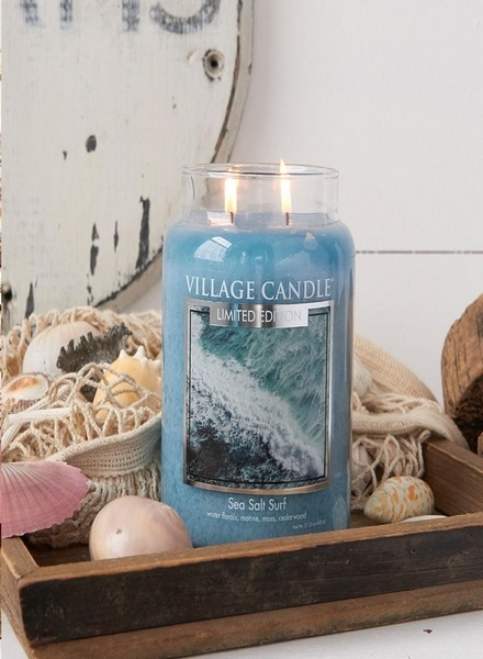 Village Candle Village Candle Sea Salt Surf Medium Jar