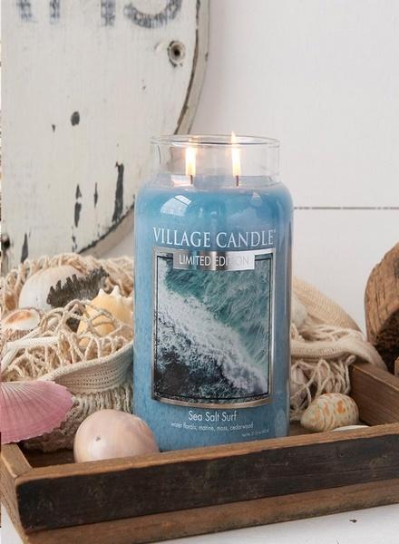 Village Candle Village Candle Sea Salt Surf Mini Jar