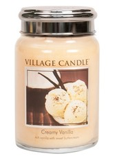 Village Candle Creamy Vanilla Large Jar