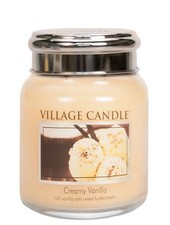 Village Candle Creamy Vanilla Medium Jar