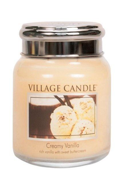 Village Candle Creamy Vanilla Medium Jar