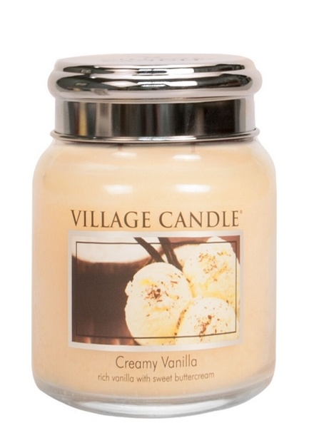 Village Candle Village Candle Creamy Vanilla Medium Jar