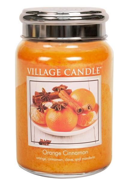 Village Candle Village Candle Orange Cinnamon Large Jar