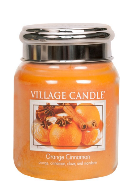 Village Candle Village Candle Orange Cinnamon Medium Jar