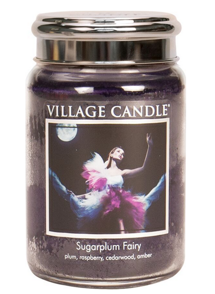 Village Candle Sugarplum Fairy Large Jar