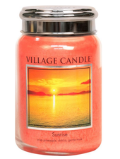 Village Candle Sunrise Large Jar