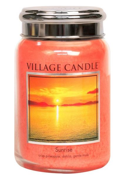 Village Candle Sunrise Large Jar