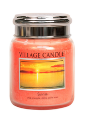 Village Candle Sunrise Medium Jar