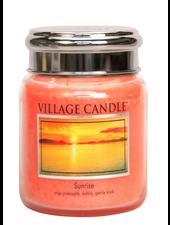 Village Candle Sunrise Medium Jar