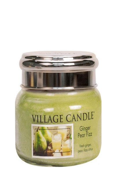 Village Candle Ginger Pear Fizz Small Jar