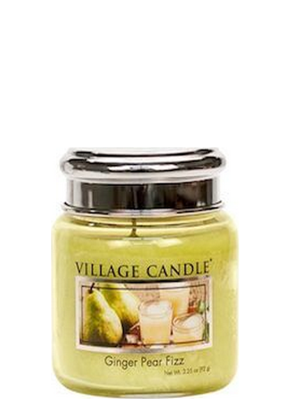 Village Candle Ginger Pear Fizz Mini Jar