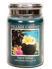 Village Candle Tropical Getaway Large Jar