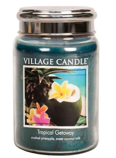 Village Candle Tropical Getaway Large Jar