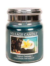 Village Candle Tropical Getaway Medium Jar