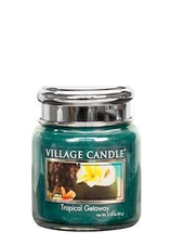 Village Candle Tropical Getaway Mini Jar