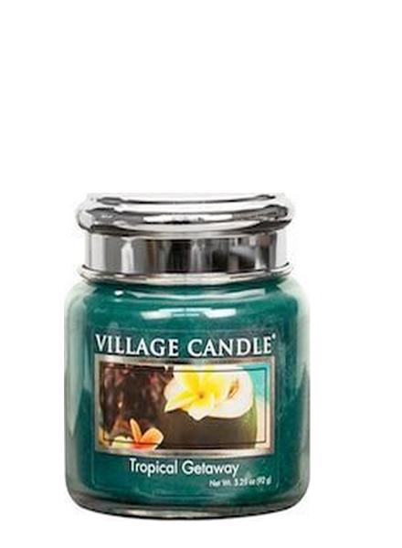 Village Candle Tropical Getaway Mini Jar