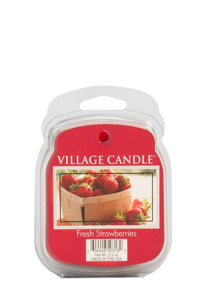 Village Candle Village Candle Fresh Strawberries Wax Melt