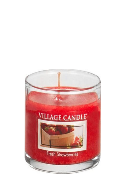 Village Candle Fresh Strawberries Votive