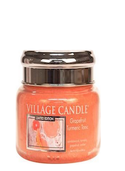 Village Candle Grapefruit Turmeric Tonic Small Jar