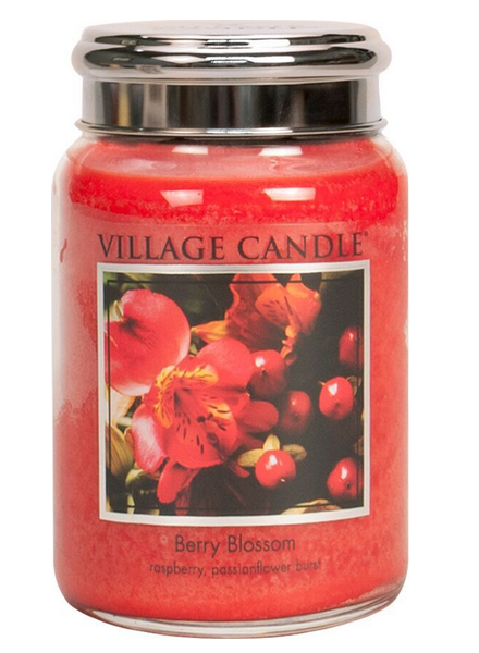 Village Candle Berry Blossom Large Jar