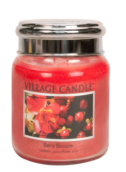Village Candle Berry Blossom Medium Jar
