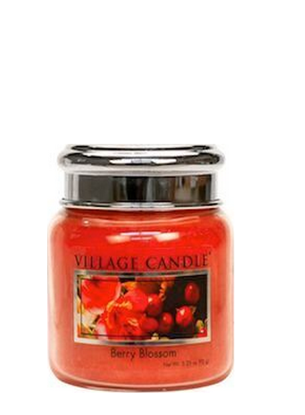 Village Candle Berry Blossom Mini Jar