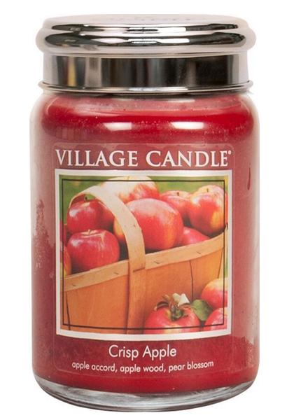 Village Candle Crisp Apple Large Jar