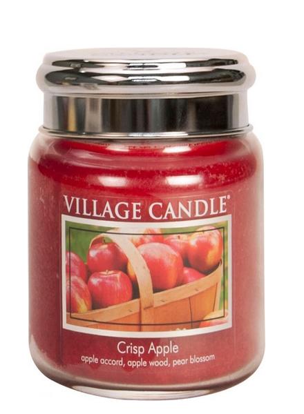 Village Candle Crisp Apple Medium Jar