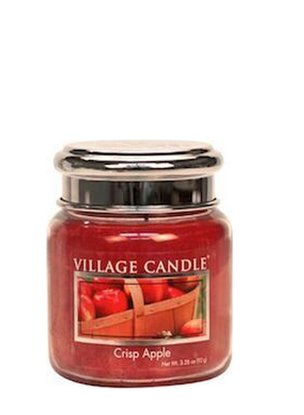 Village Candle Crisp Apple Mini Jar